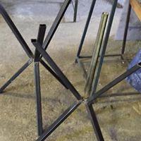 Basi In Ferro Per Tavoli.Base In Ferro Per Tavoli Da Ristorazione Dfb Service Srls